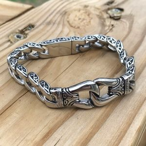 Other - Stainless Cuban Link Bracelet
